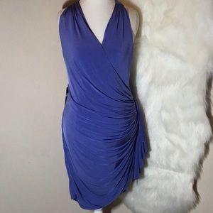 Marciano Natasha Dress. Violet Storm Size L NWT